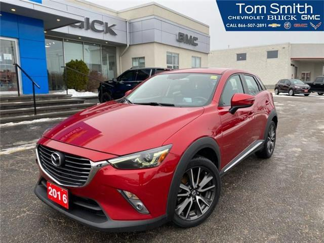 2016 Mazda CX-3 GT (Stk: 210188A) in Midland - Image 1 of 18