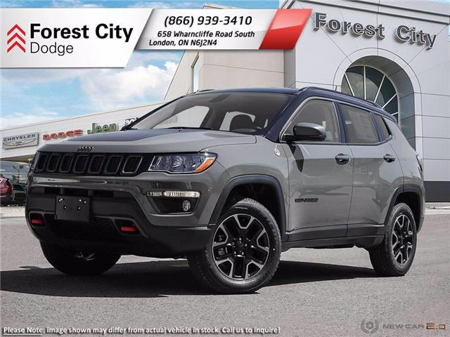 2021 Jeep Compass Trailhawk (Stk: 21-9003) in London - Image 1 of 23