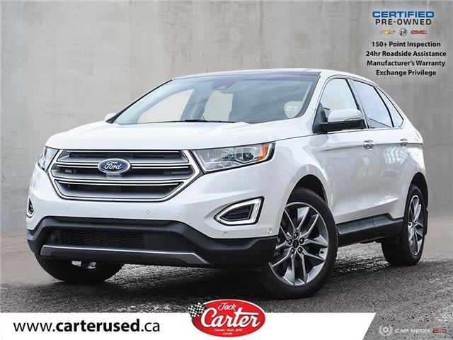 2017 Ford Edge Titanium (Stk: 56542L) in Calgary - Image 1 of 29