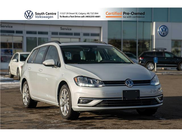 2019 Volkswagen Golf SportWagen 1.8 TSI Highline (Stk: U6671) in Calgary - Image 1 of 42