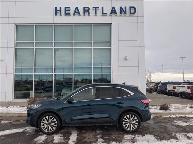 2020 Ford Escape Titanium Hybrid (Stk: R10883) in Fort Saskatchewan - Image 1 of 29