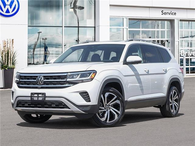 2021 Volkswagen Atlas 3.6 FSI Execline (Stk: A21028) in Sault Ste. Marie - Image 1 of 10