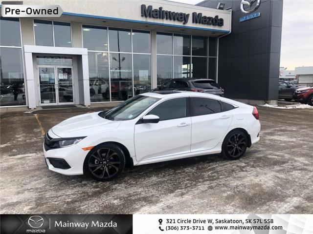 2020 Honda Civic Sport (Stk: M21087A) in Saskatoon - Image 1 of 16