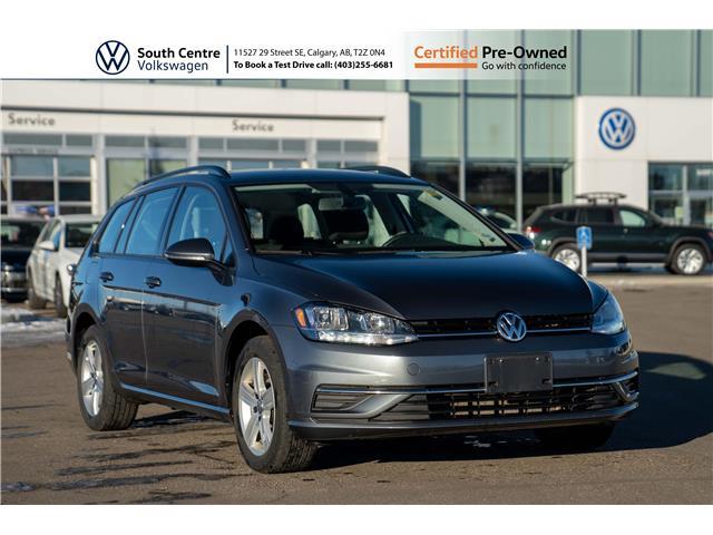2019 Volkswagen Golf SportWagen 1.8 TSI Comfortline (Stk: U6668) in Calgary - Image 1 of 37