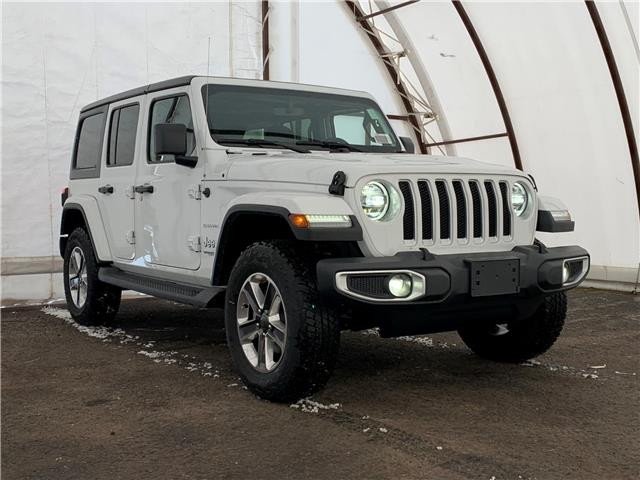 2021 Jeep Wrangler Unlimited Sahara (Stk: 210035) in Ottawa - Image 1 of 30