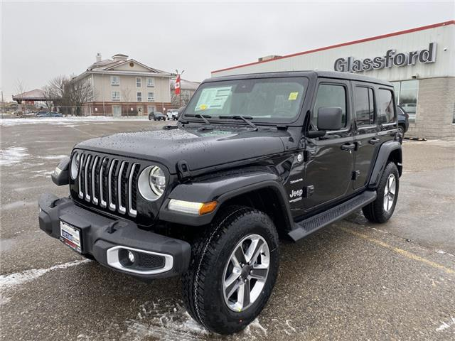2021 Jeep Wrangler Unlimited Sahara (Stk: 21-067) in Ingersoll - Image 1 of 20