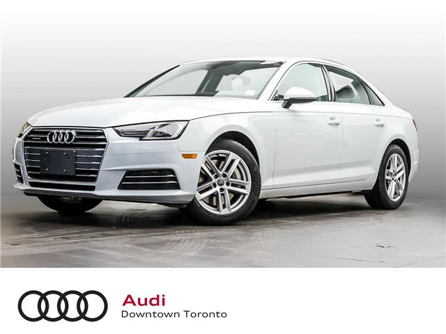 2017 Audi A4 2.0T Komfort (Stk: P4115) in Toronto - Image 1 of 10