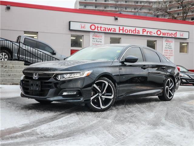 2018 Honda Accord Sport (Stk: H87700) in Ottawa - Image 1 of 28