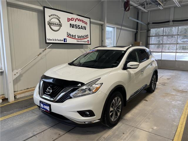2017 Nissan Murano SV (Stk: 20052A) in Owen Sound - Image 1 of 13