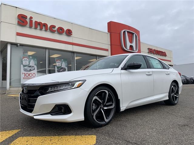 2021 Honda Accord SE 1.5T (Stk: 21032) in Simcoe - Image 1 of 19