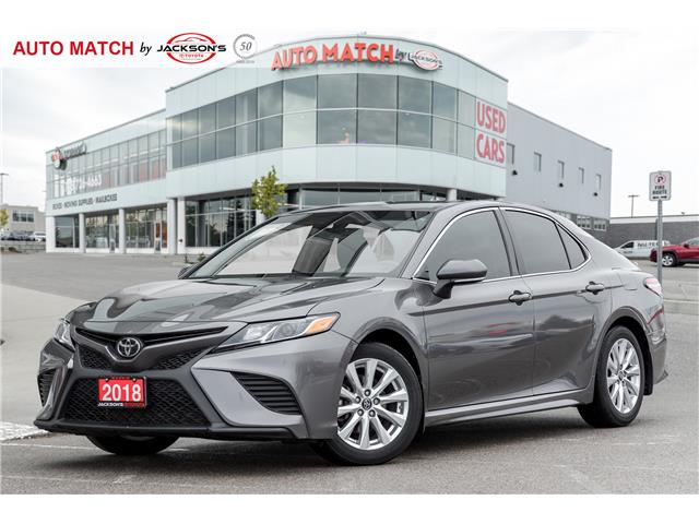 2018 Toyota Camry SE (Stk: U7878) in Barrie - Image 1 of 20