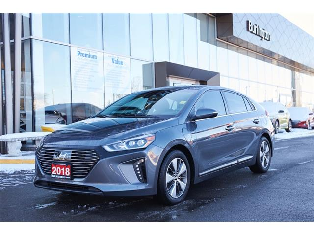 2018 Hyundai Ioniq Plug-In Hybrid Limited (Stk: N2640A) in Burlington - Image 1 of 25