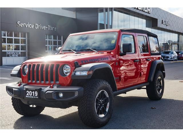 2019 Jeep Wrangler Unlimited Rubicon (Stk: D2595A) in Burlington - Image 1 of 21
