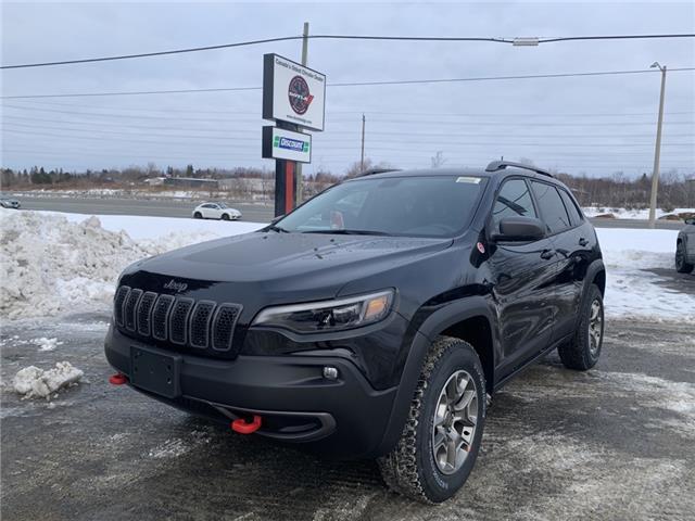 2021 Jeep Cherokee Trailhawk (Stk: 6727) in Sudbury - Image 1 of 19