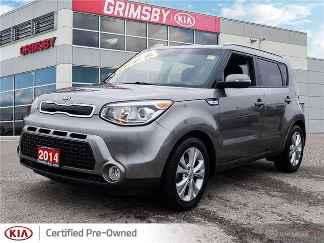 2014 Kia Soul EX model ! Gas saver with low kms!!!! (Stk: N3988B) in Grimsby - Image 1 of 25