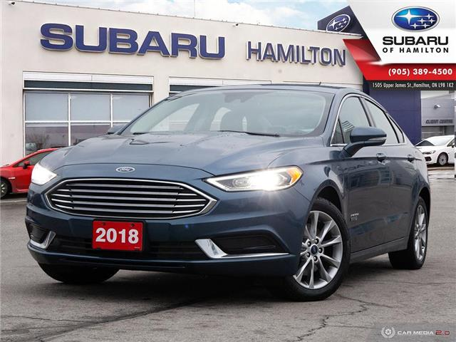 2018 Ford Fusion Energi SE Luxury (Stk: S8685A) in Hamilton - Image 1 of 26
