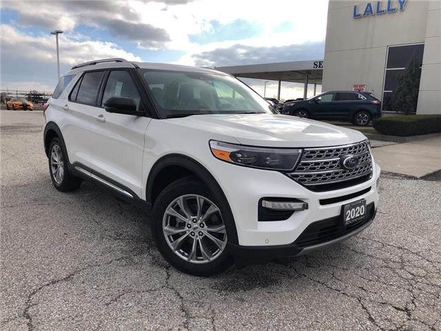 2020 Ford Explorer Limited (Stk: S10589R) in Leamington - Image 1 of 29