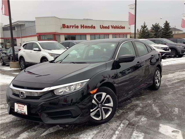 2017 Honda Civic LX (Stk: U17300) in Barrie - Image 1 of 22
