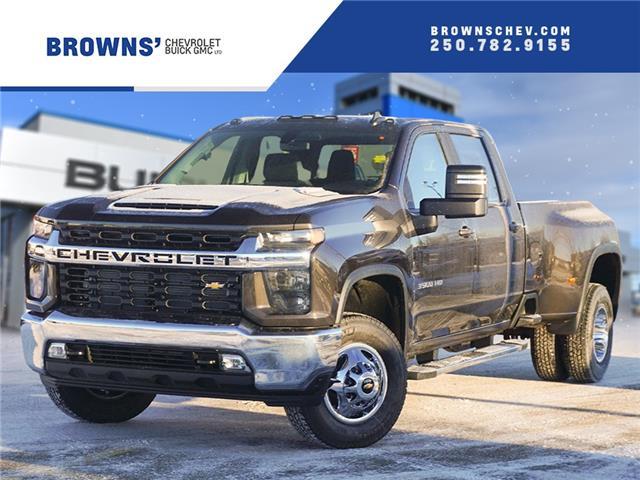 2021 Chevrolet Silverado 3500HD LT (Stk: T21-1686) in Dawson Creek - Image 1 of 15