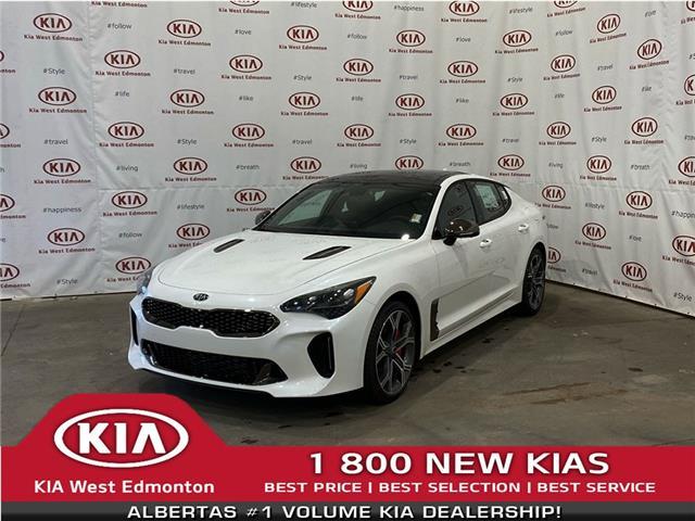 2021 Kia Stinger GT Limited w/Black Interior (Stk: 22747) in Edmonton - Image 1 of 25