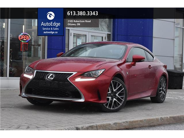 2017 Lexus RC 300 Base (Stk: A0483) in Ottawa - Image 1 of 28