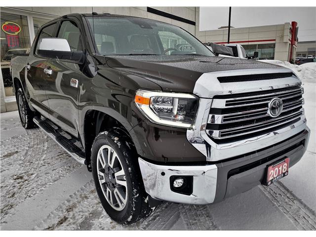 2018 Toyota Tundra Platinum 5.7L V8 (Stk: P02874) in Timmins - Image 1 of 12