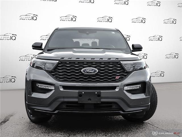 2021 Ford Explorer ST Grey