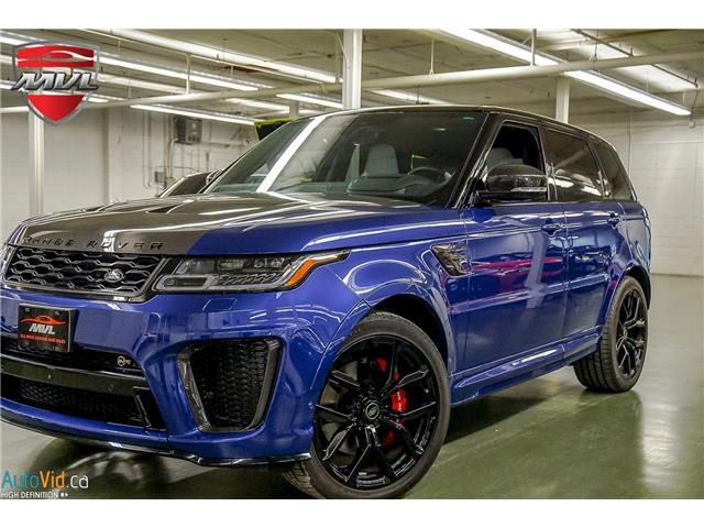 2020 Land Rover Range Rover Sport SVR SALWZ2RE8LA894153  in Oakville