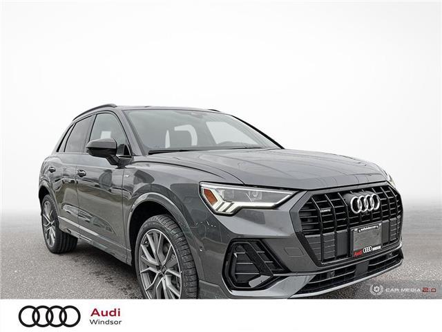 2021 Audi Q3 45 Technik (Stk: 21050) in Windsor - Image 1 of 30