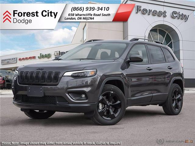 2021 Jeep Cherokee Altitude (Stk: 21-8001) in London - Image 1 of 23