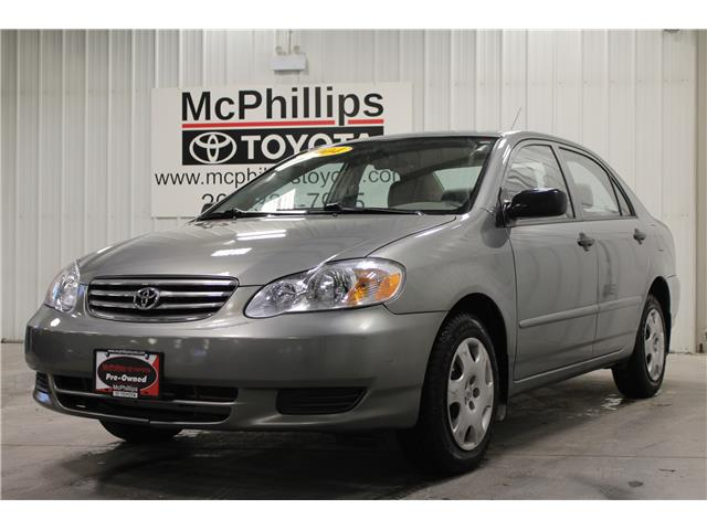 2004 Toyota Corolla  (Stk: B10966) in Winnipeg - Image 1 of 21