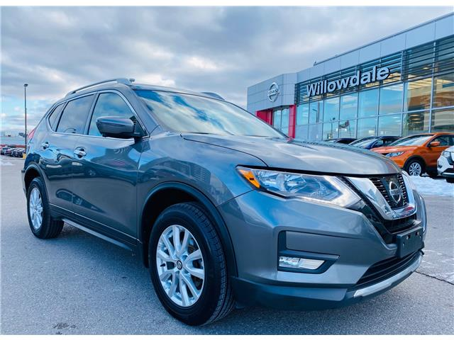 2017 Nissan Rogue SL Platinum (Stk: N1104A) in Thornhill - Image 1 of 20