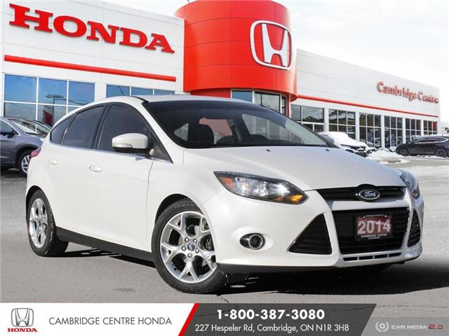 2014 Ford Focus Titanium (Stk: U5048) in Cambridge - Image 1 of 27