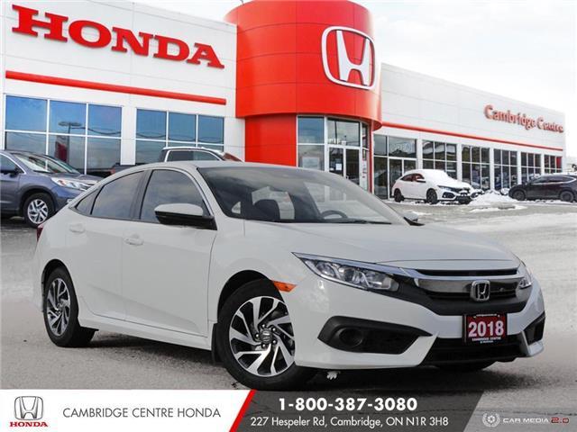 2018 Honda Civic SE (Stk: 21373A) in Cambridge - Image 1 of 27
