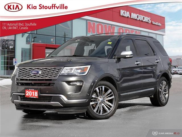 2018 Ford Explorer Platinum (Stk: P0324) in Stouffville - Image 1 of 26