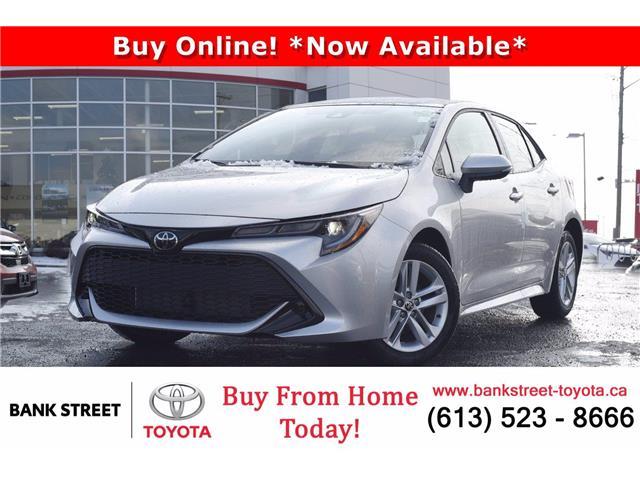 2021 Toyota Corolla Hatchback Base (Stk: 28855) in Ottawa - Image 1 of 25