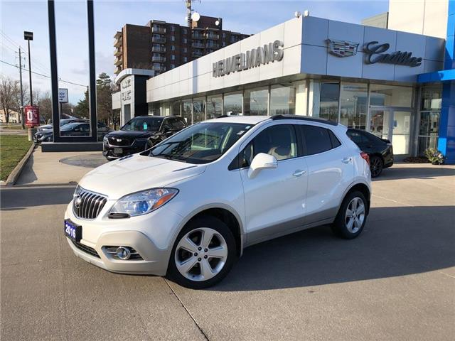 2016 Buick Encore Leather (Stk: TL400A) in Chatham - Image 1 of 17