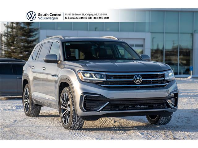 2021 Volkswagen Atlas 3.6 FSI Execline (Stk: 10082) in Calgary - Image 1 of 49