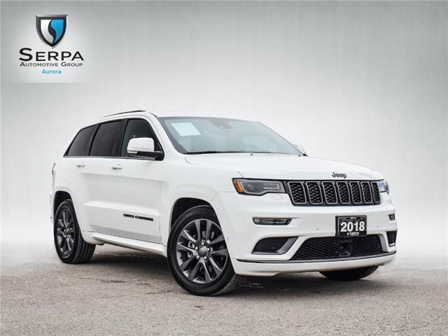 2018 Jeep Grand Cherokee Overland (Stk: P1470) in Aurora - Image 1 of 29
