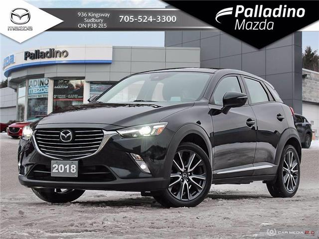2018 Mazda CX-3 GT (Stk: 7926A) in Sudbury - Image 1 of 28