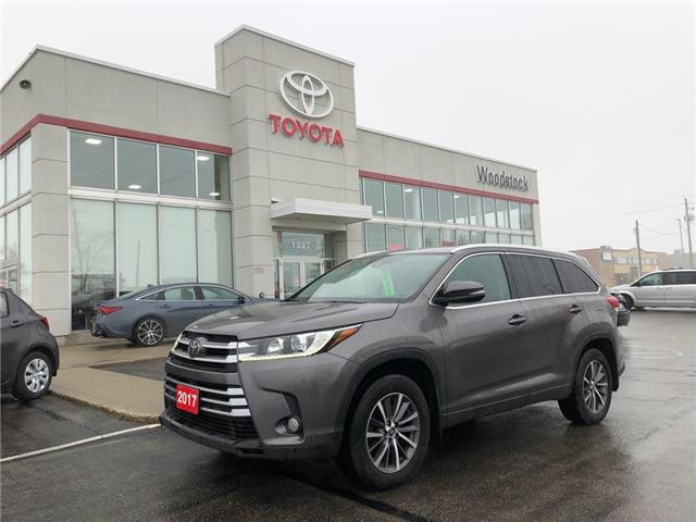 2017 Toyota Highlander XLE (Stk: 2005) in Woodstock - Image 1 of 27