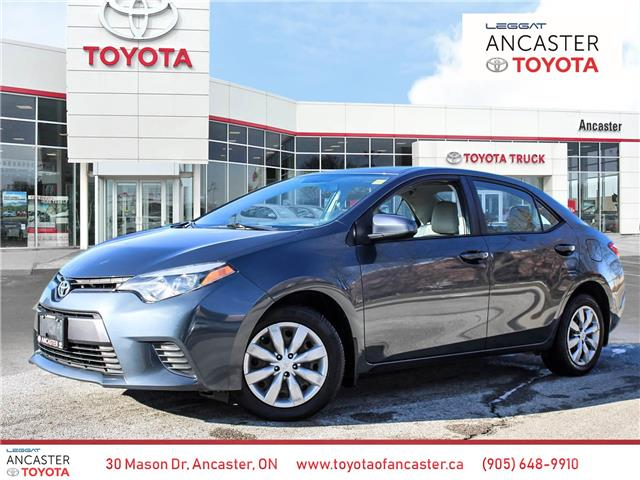 2016 Toyota Corolla LE (Stk: 4101) in Ancaster - Image 1 of 25
