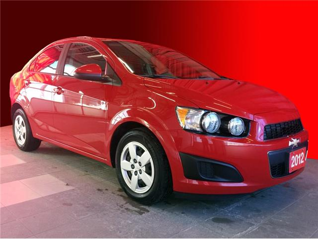2012 Chevrolet Sonic LS (Stk: BB0910A) in Listowel - Image 1 of 17