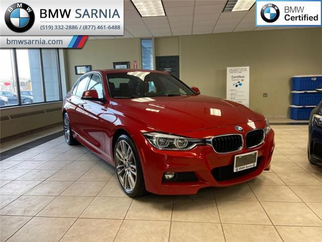 2017 BMW 330i xDrive (Stk: BU776) in Sarnia - Image 1 of 7