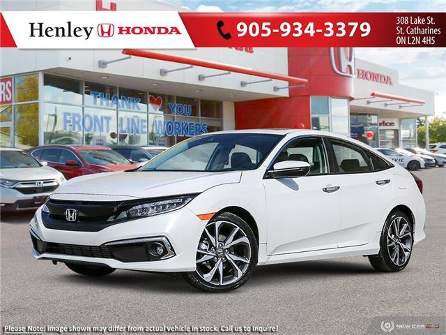 2021 Honda Civic Touring (Stk: H19377) in St. Catharines - Image 1 of 23