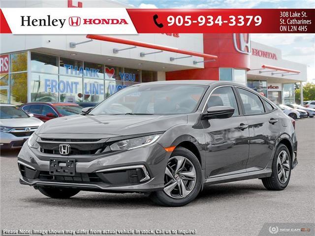 2021 Honda Civic LX (Stk: H19396) in St. Catharines - Image 1 of 23
