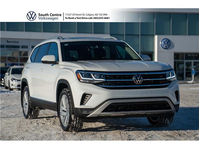 2021 Volkswagen Atlas 3.6 FSI Highline (Stk: 10080) in Calgary - Image 1 of 47