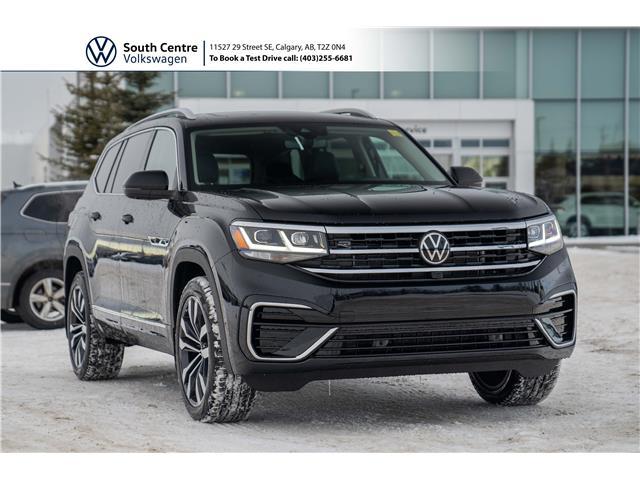 2021 Volkswagen Atlas 3.6 FSI Execline (Stk: 10083) in Calgary - Image 1 of 49