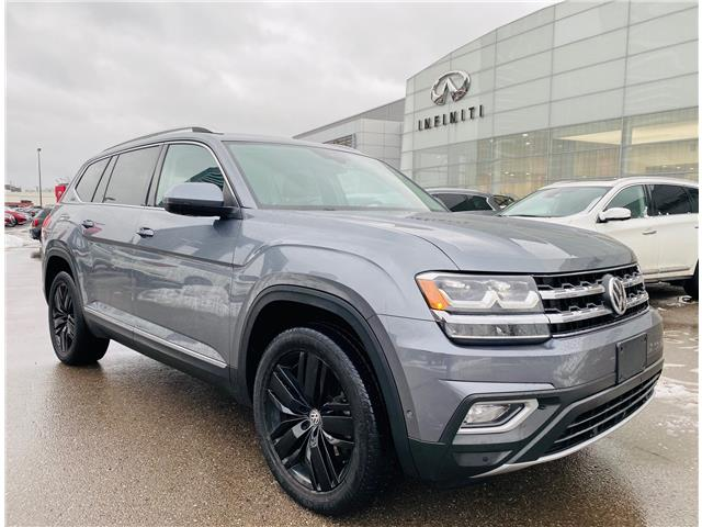 2018 Volkswagen Atlas 3.6 FSI Execline (Stk: H9482A) in Thornhill - Image 1 of 19