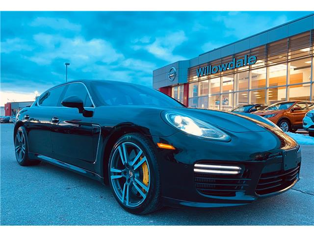2014 Porsche Panamera Turbo S Executive (Stk: ) in Thornhill - Image 1 of 24